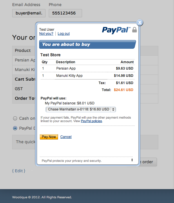 how to send payment without converting paypal