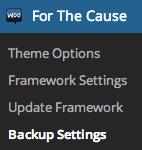 woothemes-backup-settings-link