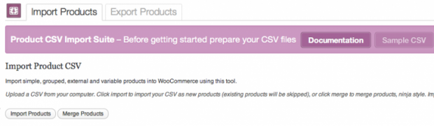 WooCommerce Import Product Lewat File CSV