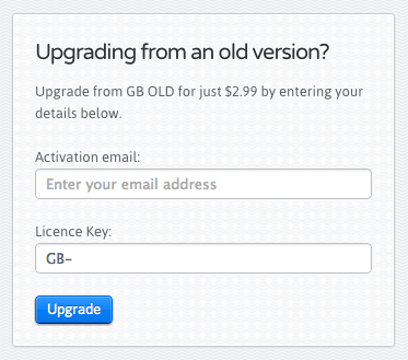 If enabled, users can upgrade old keys for a reduced price
