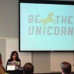 Sara Cannon's Golden Unicorn