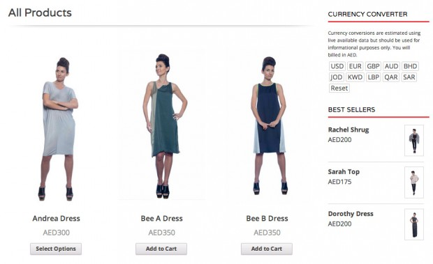 The Judith Hobby Clothing shop powered by WooCommerce.