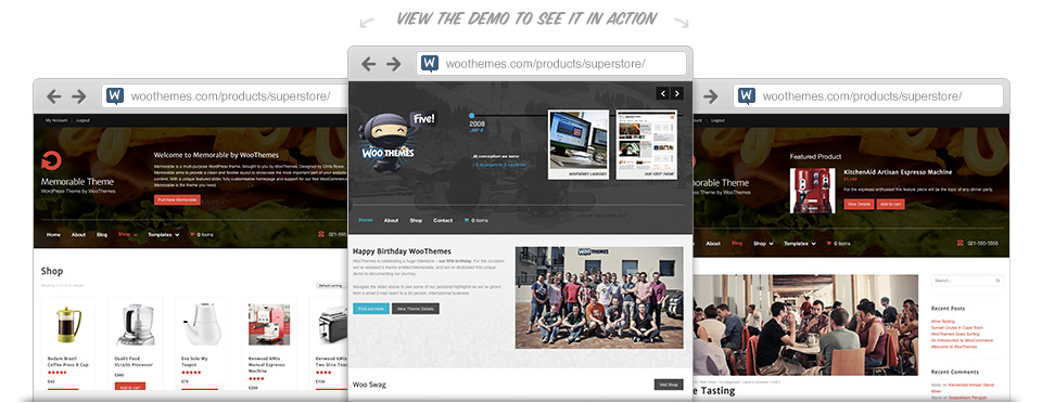 Memorable v1.0.5 WordPress Theme | Woothemes