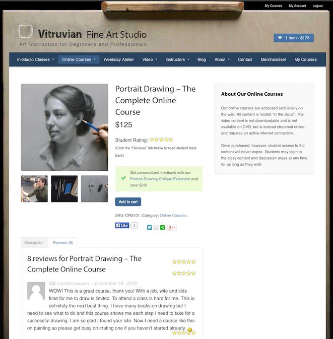 Vitruvian Product Page