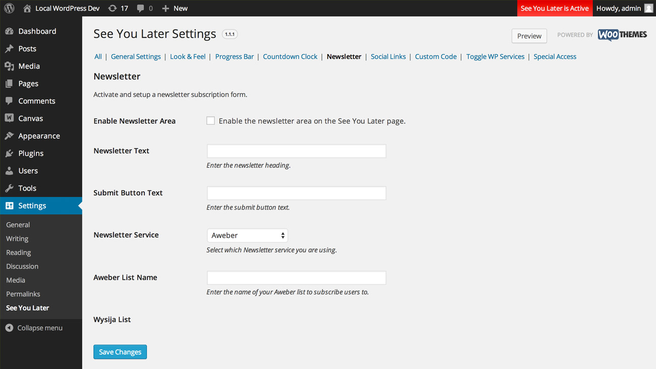 Integrate your newsletter subscriptions