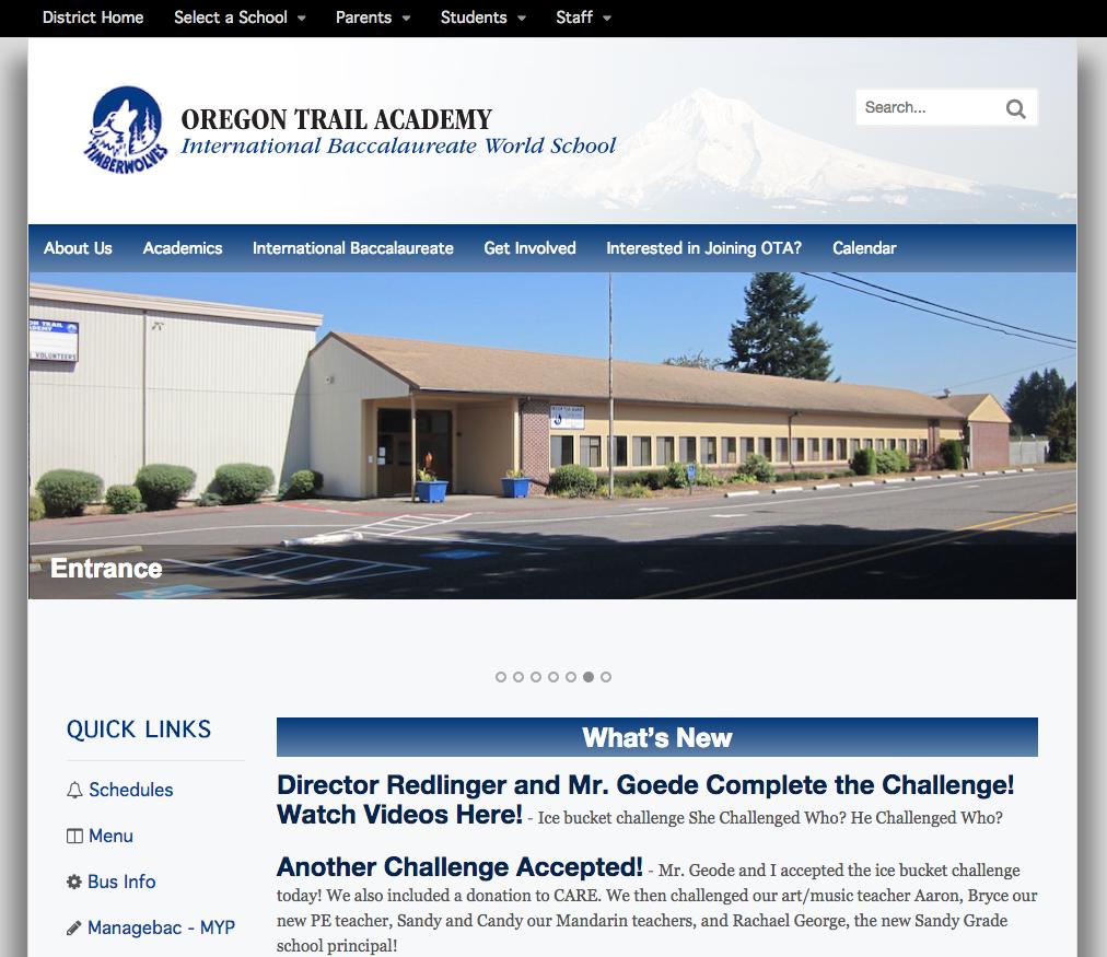 Oregan Trail Academy