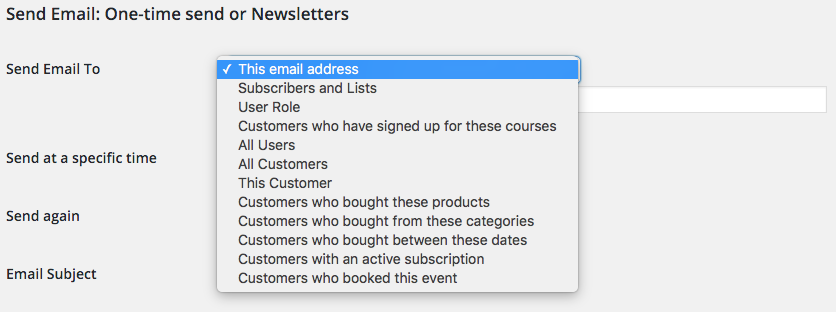 Setting up a follow-up email with an incentive for customers couldn't be easier.