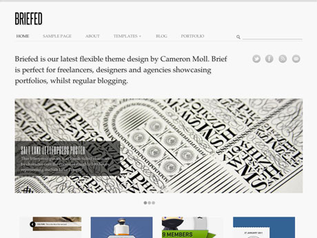 Briefed Premium WordPress Theme