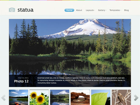 Statua  Premium WordPress Theme
